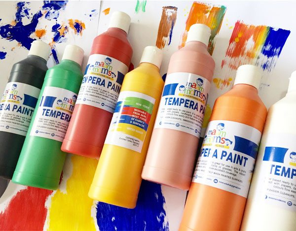 Ma'am and Mom's Tempera Paints 500ml