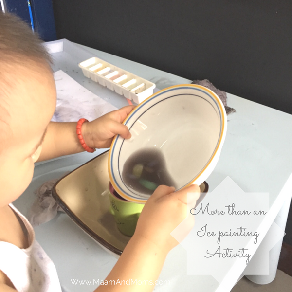 Toddler practical life activity