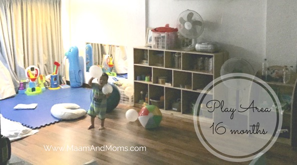 Toddler Montessori play area