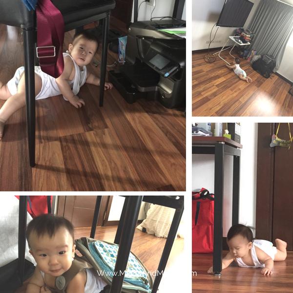 Baby everywhere!
