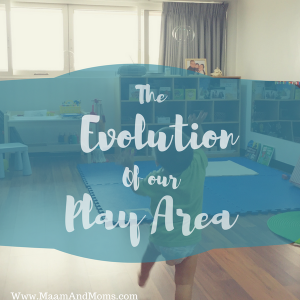 The Evolution of Our Play Area