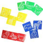 Land Animals - Stencils