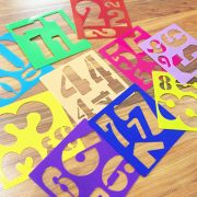 stencils numbers