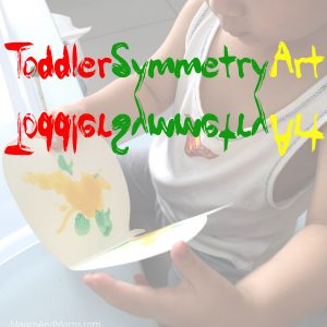 Toddler Symmetry Art