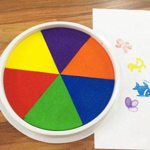 Multicolor Stamp Pad