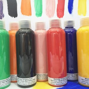 100ml Non-Toxic and Washable Tempera Paints
