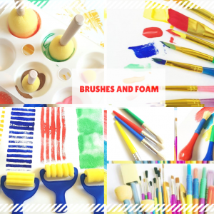Brushes & Foam